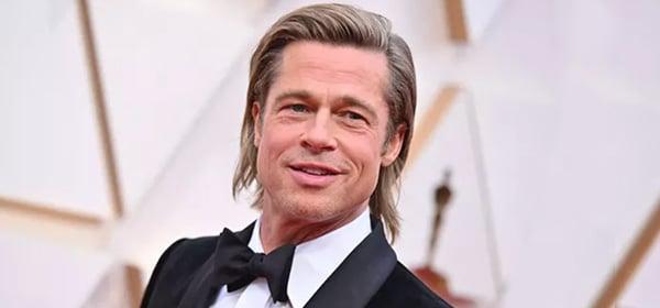 Brad Pitt coupe cheveux longs