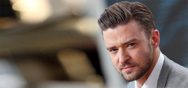 Justin Timberlake coupe pompadour