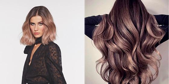 femme cheveux smoky hair