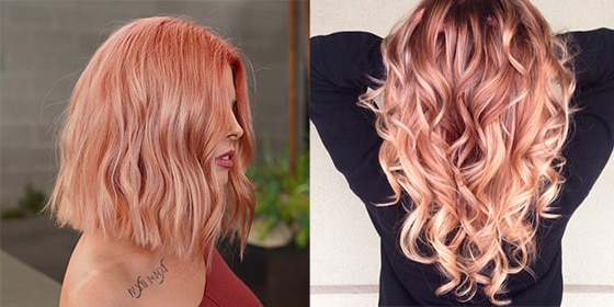 femme cheveux strawberry hair