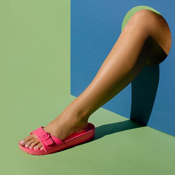 pied sandale