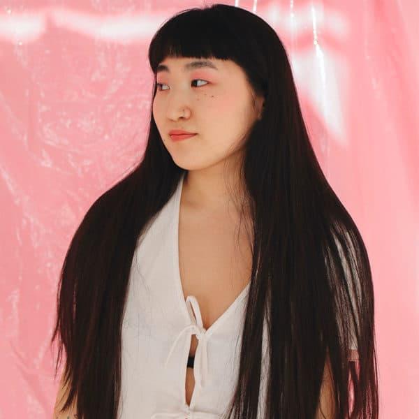 femme cheveux long don